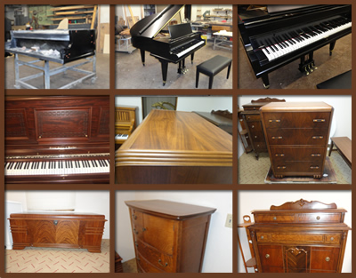 Piano and Furniture Refinishing